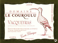 Domaine le Couroulu Vacqueyras 2005