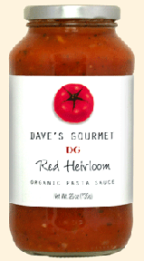Dave's Gourmet Red Heirloom Organic Pasta Sauce