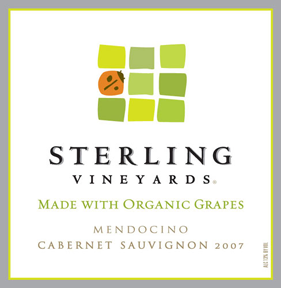 Sterling Vineyards Cabernet Sauvignon 2007