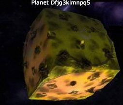 Cube Planet