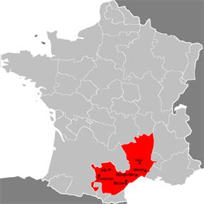 Languedoc Region