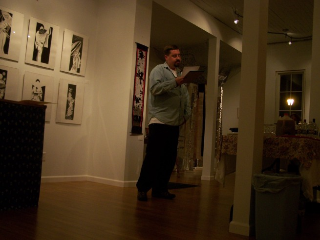 Tom Holmes Suddenly Reading in the Dark