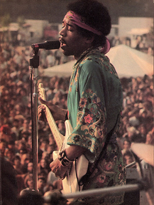 Jimi Hendrix Newport 1969