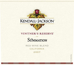 Kendall-Jackson Vinter's Reserve Summation 2007