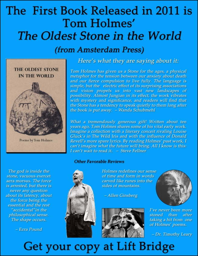 The Oldest Stone in the World flier