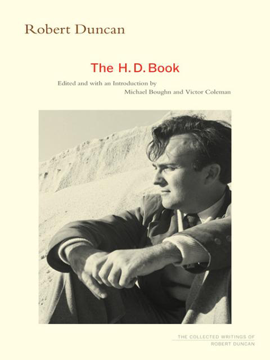 Robert Duncan The H. D. Book