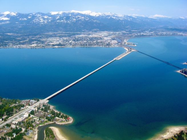 The Bridge to Sand Point, Idaho