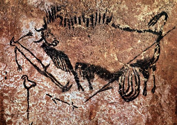 Shaft of the dead man, Lascaux