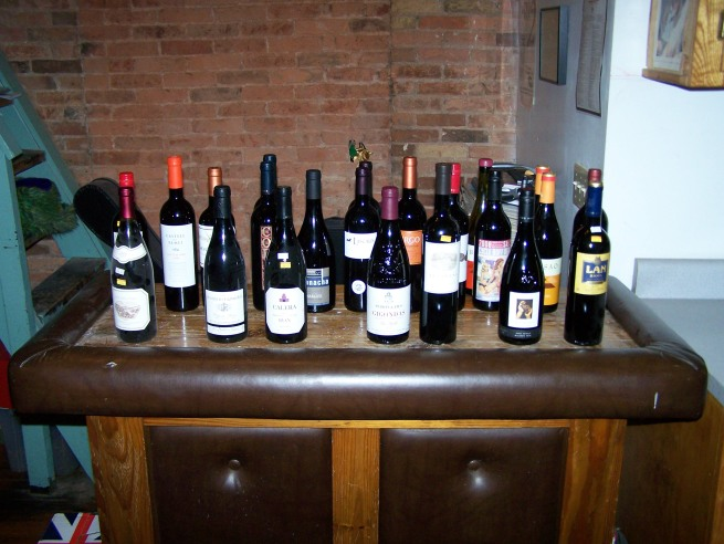 Twenty-One-and-a-Half Red Wines