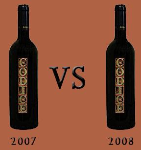 Codice 2007 vs Codice 2008