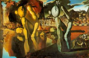 Salvador Dali Metamorphosis of Narcissus