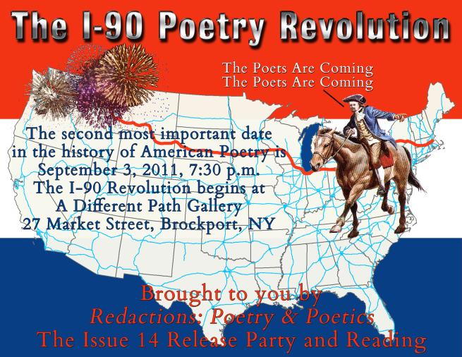 The I-90 Revolution Reading Poster
