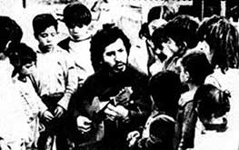 Victor Jara With Children Supporters
