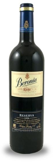 Bodegas Beronia Reserva Rioja 2006