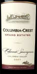 Columbia Crest Grand Estates Cabernet Sauvignon 2007