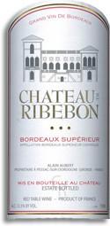 Chateau de Ribebon Bordeaux Supérieur 2009