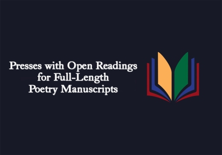 Press with Open Reading for Full-Length Poetry Manuscripts