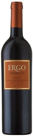 Ergo Tempranillo Rioja 2009
