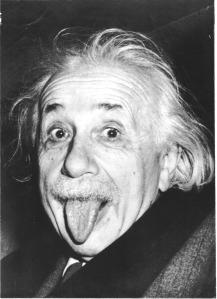 Einstein's tongue
