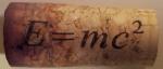 E=MC^2 cork