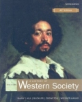 Cover of textbook on Western Society